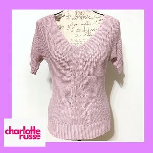 Charlotte Russo V-neck knit Top
